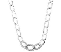 Halskette 'esnl92258B420' silber