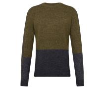 Sweatshirt marine / oliv