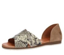 Sandale 'chiusi' beige