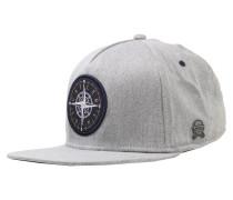 Cap 'Navigating' navy / graumeliert