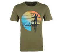 T-Shirt oliv / mischfarben