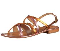 Sandalen braun / orange / pink