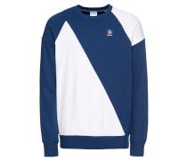 Sweatshirt 'ES Crew' blau / weiß