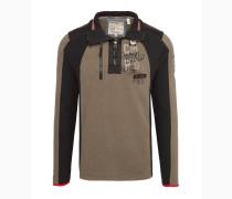 Pullover hellbraun / schwarz