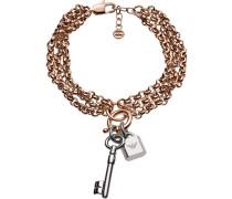 Armband rosegold / silber