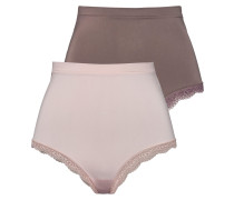Strings taupe / rosa