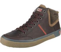 Sneakers High kastanienbraun
