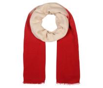 Schal 'vivianne' beige / rot