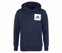 Kapuzensweatshirt 'essentials Chest Logo Pullover Hood Fleece'