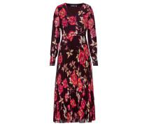 Kleid kastanienbraun / cranberry