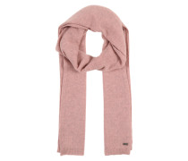 Softer Schal in Melange-Design rosa