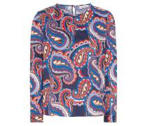 Bluse dunkelblau / mischfarben