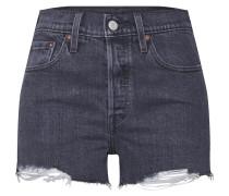 Shorts '501' black denim