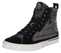 Sneaker 'velows' hellgrau / schwarz