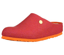 Clogs 'Kaprun' neonorange / cranberry