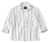 Bluse 'linen Utility Shirt'