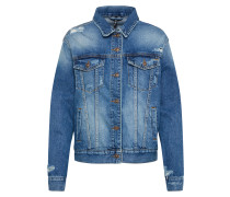 Jeans Jacke 'aloe' blue denim