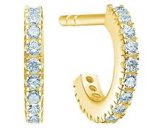 Ohhringe 'Simplicity Mini Hoops ' gold