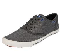 Sneaker aus Stoff graumeliert