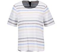Blusenshirt mischfarben / weiß