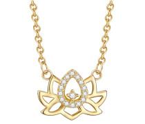 Halskette gold / weiß