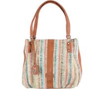 Handtasche braun / mischfarben