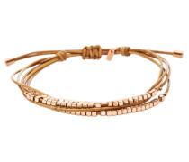 Armband hellbraun / rosegold