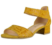 Sandalen goldgelb