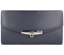 'Dolce Vita' Geldbörse Clutch blau