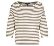 Shirt brokat / weiß