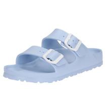 Sandalette 'Arizona' hellblau / weiß
