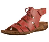 Sandale pastellrot
