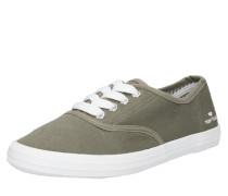 Sneaker khaki / weiß
