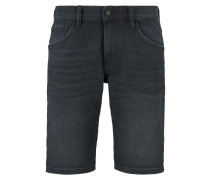 Shorts black denim