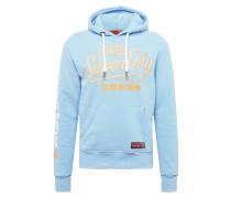 Sweatshirt 'ticket Type Pastel Hood'