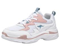 Sneaker 'Wave' petrol / rosa / weiß