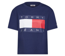 Shirt navy / rot / weiß