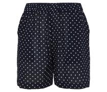 Shorts 'Donna' marine / weiß