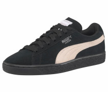 'Suede Classic' Sneaker schwarz