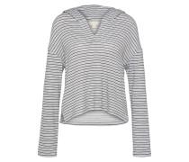 Shirt 'slounge' grau / schwarz