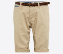 Chino Shorts 'solid Jim' beige