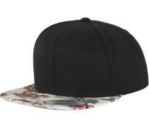 Snapback mint / pink / schwarz / weiß