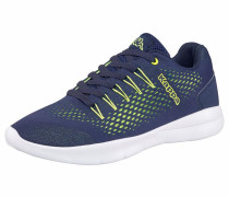 Sneaker »Nexus« navy / limette