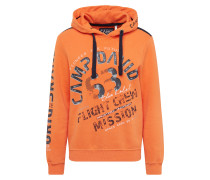 Sweatshirt orange