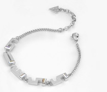 Armband 'G Square' silber