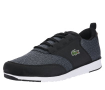 Sneaker graumeliert / schwarz