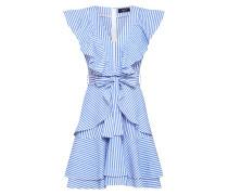 Kleid 'evan-Dr' blau / weiß
