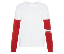 Pullover 'W Huya' rot / weiß