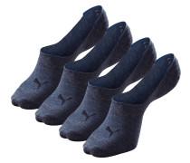 Füßlinge blau