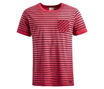 Shirt 'tick' himbeer / schwarz